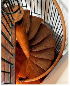 Nautical Spiral eclectic-staircase