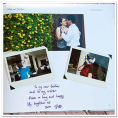 Guest book - with instant polaroid pics!  Have guests get a picture taken of them (have props available) and then put polaroid pic. into the guest book and they can write next to it!