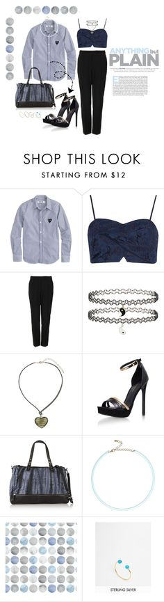 """""""~~~~~~"""" by bluveraa ❤ liked on Polyvore featuring J.Crew, River Island, Topshop, Dorothy Perkins, Maje, Kreme Life, ASOS, women's clothing, women's fashion and women"""