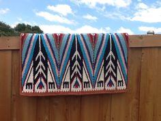G136B Yucca Flats Saddle Blanket
