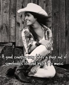 Country music is a good place to go when times get tough