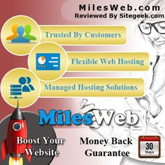 Milesweb is a popular hosting provider located in Maharashtra, India, UK and US as well. It offers simple, reliable and cost-effective solutions. Their hosting service includes Reseller, dedicated server, shared and VPS hosting. They support all sized businesses and provide services to all sectors. They have services and products providing from basic hosting account to complex dedicated servers clusters on multiple platforms.