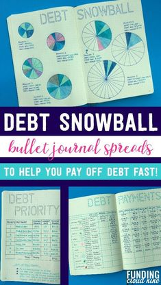 credit card debt payoff bullet journal Pay off debt fast with these debt snowball bullet journal ideas! A debt tracker, debt priority list, debt payment recorder and more will help you organize your finances to become debt-free!