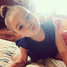 I swear this is what my kid would look like...lol so adorable!