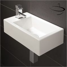 Excellent Quality HIB Rialto Metro Cloakroom Basin 440 x at discounted rate. Manufacturing Code of this Cloakroom Washbasin is Small Cloakroom Basin, Small Basin, Cloakroom Ideas, Bathroom Ideas, Basin Sink, Bathroom Basin, Modern Bathroom, Small Bathroom, Japanese Bathroom