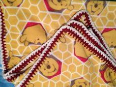 Hunny & Pooh Fleece Blanket