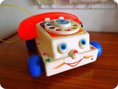 Old Fisher Price speelgoed