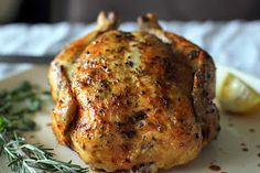 The Owl with the Goblet: Mom's Roasted Chicken
