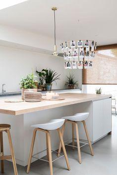 Aflevering de make-over van Lien en Nicholas Kitchen Room Design, Kitchen Dinning, Modern Kitchen Design, Interior Design Kitchen, New Kitchen, Kitchen Decor, Kitchen Ideas, Warren House, Küchen Design