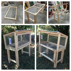 Our DIY Rabbit Hutch! Our Bunny is going to love it!!!! | Thinking of selling or buying in San Bernardino or Riverside Counties? Contact George Lawson today: 951-324-5053