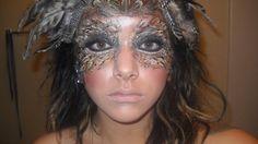 Owl makeup for Halloween