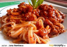 Food Art, Spaghetti, Food And Drink, Cooking Recipes, Chicken, Meat, Ethnic Recipes, Al Dente, Bulgur