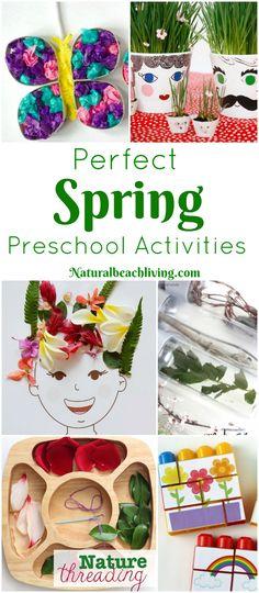 45+ Spring Preschool Activities That Make Everyone Happy, Life Cycle preschool activities, flower activities, sensory bins, preschool crafts, nature & more
