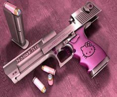 | Hello Kitty Keltec pistol ?