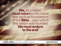 We must endure to the end! #America #VotetheBible