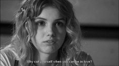 """disrespectfully: """"My Cassie-isms Part 1 """" I will post a second part to this one and Effy, because well I'm both. Tu Me Manques, Broken Hearted Girl, Hannah Murray, When You Can, Three Days, Sad Quotes, Cassie, Beyonce, Shit Happens"""