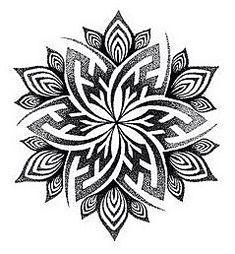 Tattoo Ideas Female Discover Mandala Handpoke Tattoo Design - C A Wills by Chris-Anthony-Wills on deviantART Mandala Tattoo Design, Dotwork Tattoo Mandala, Geometric Mandala Tattoo, Design Tattoo, Mandala Drawing, Tattoo Designs, Tattoo Ideas, Henna Designs, Dot Work Mandala