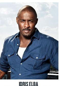 Perfection, otherwise known as Idris Elba.