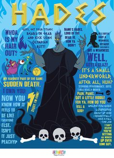 He made us laugh as Lord of the Dead. Here are the best quotes said by Hades from Disney's Hercules!