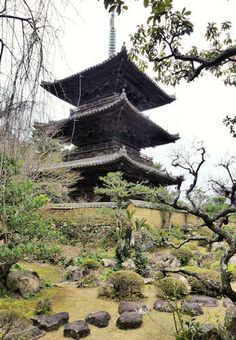 Dojoji Temple, Wakayama, Japan.
