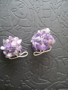 Jewelry, my love / Bijuterii  Amethist cuff-links