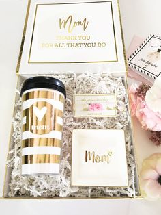 Mom Gift Basket | Mom Gift Box | Mothers Day Gift Basket