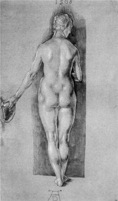 Female Nude - 1506 Kupferstichkabinett