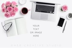 Styled stock Photograph with Laptop notebook от HerCreativeShop