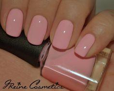 Baby girl - baby pink creme nail polish in 2019 nails ideas Uñas Fashion, Cream Nails, Soft Pink Nails, Nail Pink, Nail Colors For Pale Skin, Matte Pink, Blush Pink, French Nails, Natural Nails