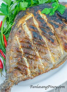 Grilled Pompano is a delicious dish that anyone can prepare. Aside from tasting fresh and delicious, I like grilled pompano because it does not require a lot of ingredients and it is simple to prepare.