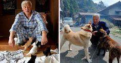 The Radioactive Man Who Returned To Fukushima To Feed The Animals That Everyone Else Left Behind   Bored Panda