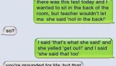 Your Teacher Called