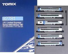 NEW Tomix 92781 KIHA 183-2550 express diesel N Scale HET Basic 6-Car Set 485 #Tomix