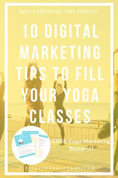 In this post you will learn 10 digital marketing tips to fill your yoga classes and start building valued relationships with your community online. Social Media Digital Marketing, Online Marketing, Free Yoga Classes, Teaching Career, Teaching Methods, Online Yoga, Yoga Teacher Training, Teacher Resources, Business Tips