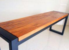 Móveis de madeira maciça banco mesa mesa de ferro retro Nordic estilo country americano mobiliário de escritório