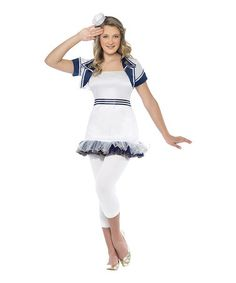 Take a look at this White Miss Sailor Girl Dress-Up Outfit - Girls by Smiffy's