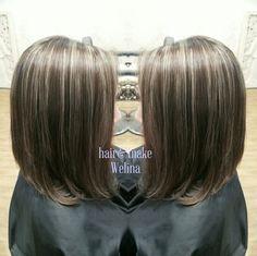ハイライトたっぷり❤ ベースは暗めのアッシュグレージュ✨ ハイライトは 7mm~3mmをランダムに ゆみちゃんありがとうございました✨ #highlights #haircolor #grayge #ashbrown #ヘアカラー #ハイライト #アッシュ #アッシュグレージュ #外人さんカラー #ブリーチonカラー #hairsalon #Welina #hitomiyanagida #myworks #お客様photo #感謝
