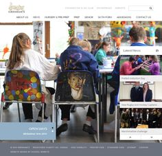 Another fully-responsive Independent school website designed by http://www.schoolwebsite.co.uk/. Check out Gresham's School new website http://www.greshams.com/