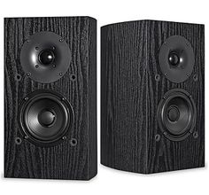 Pioneer SP-BS22-LR Bookshelf Speakers; $129.00; THESE ARE SPEAKERS! And they are great. Bless you, Andrew Jones.