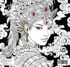 1000+ images about coloring 7 on Pinterest | Coloring books, Anti stress and Graffiti