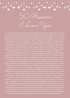 50 Reasons I Love You (birthday cards for friends 52 reasons. 50 Reasons I Love You (birthday cards for friends 52 reasons. Love You Boyfriend, Cute Boyfriend Gifts, Valentines Gifts For Boyfriend, Boyfriend Anniversary Gifts, Boyfriend Quotes, Monthsary Message For Boyfriend, Cute Notes For Boyfriend, Open When Letters For Boyfriend, Boyfriend Boyfriend