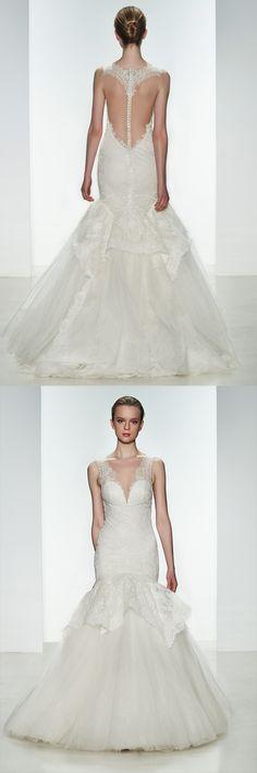 Kenneth Pool Aleshia Wedding Gown! #weddingback #weddingdress
