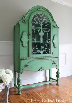 Promote The Production Of Body Fluid And Saliva Antique And Elegant French Lacquered Mirror in Progress Restored
