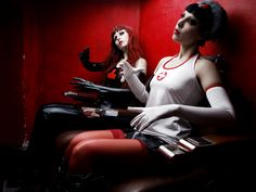 Not Aufnahme IV by Silent View (Silent Order) - Fashion Photography - Dolls - Marionettes - Puppets - Halloween concept ideas
