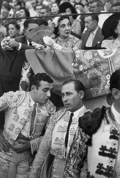 Phenomenal image. 'San Fermín, Pamplona, Spain' (1952) by French photographer Henri Cartier-Bresson (1908-2004). Gelatin silver print, 11.875 x 8.25 in. via @ your library