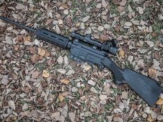 ARES Defense SCR A semi-auto rifle available in 5.56x45mm or 7.62x39mm. It uses AR-15 magazines and accepts most of the same upper parts such as barrels, handguard, bolt carrier groups and receivers. In its current configuration the SCR is legal in all 50 states. It may not be for everyone but its an interesting entry in the semi-auto hunting platforms. (GRH)