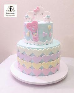 Sweetie Birthday Cake, Baby Birthday Cakes, Birthday Cakes For Women, Cake Decorating With Fondant, Creative Cake Decorating, Birthday Cake With Flowers, Beautiful Birthday Cakes, Pretty Cakes, Cute Cakes