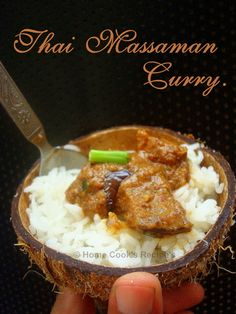 Thai Massaman Curry with Eggplant and Potato