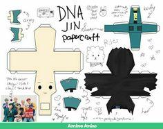 Paper Crafts, Paper Toys, Diy Crafts, Bts Cumpleaños, Bts Jungkook, Ideas, Kpop Diy, Bts Merch, Kpop Drawings