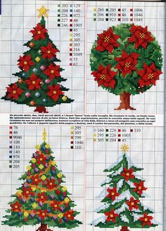 noël - christmas - point de croix - cross stitch - Blog : http://broderiemimie44.canalblog.com/